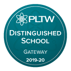 Project Lead the Way Distinguished School 2019-2020
