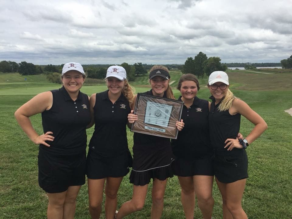 Girls' Golf Conference Champions
